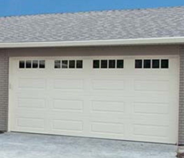 Steel Craft Garage Door   RanchCraft Style With Stockbridge Windows