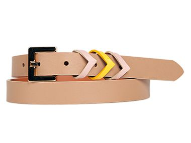 Chevron  belt .Best of the Week April 8, 2013 | Everywhere - DailyCandy