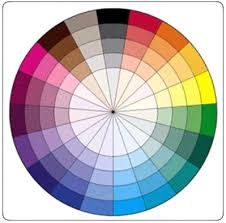 Image Result For Color Wheel Opposite Grey Green Eyes Beauty And