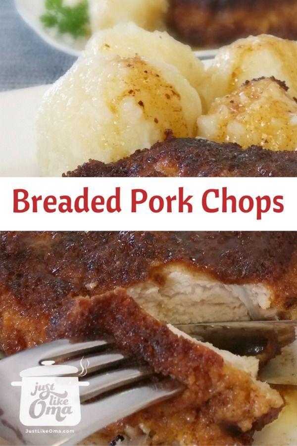 Photo of Breaded Pork Chop Recipes made Just like Oma