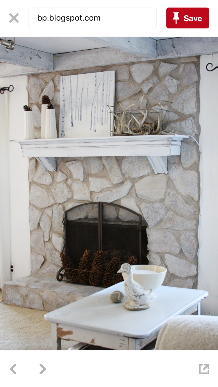 How to Update a Brick Fireplace with Chalk Paint | DIY ...