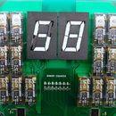 Electromechanical Decimal to Binary to Hexadecimal Converter #logicboard
