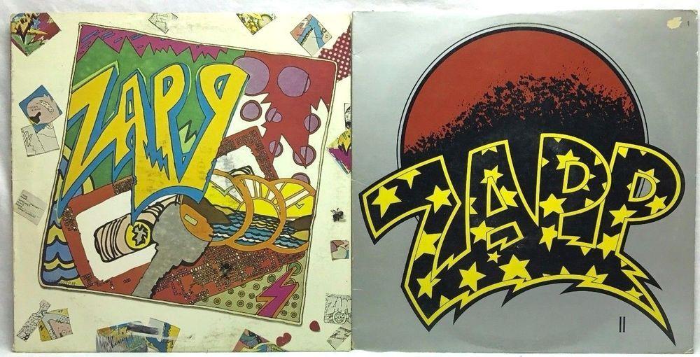 Zapp Self Titled Ii Warner Bros Original Lp Vinyl