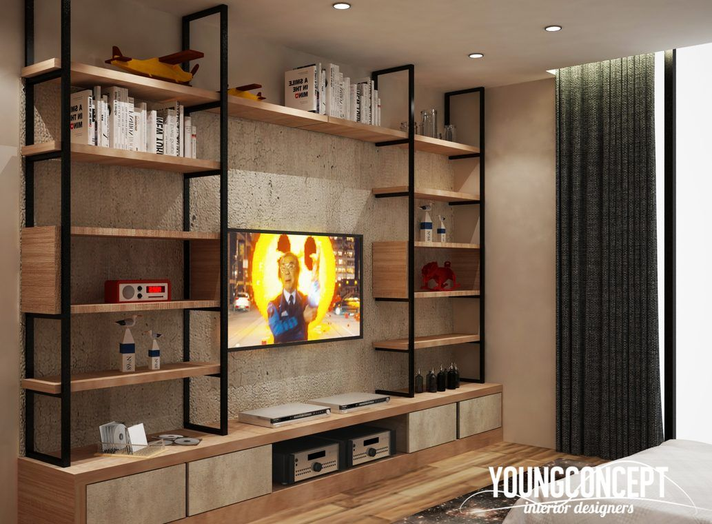 15 TV Cabinet Designs That Will Make Your Living Room ...