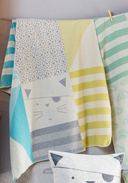 david fussenegger juwel kinderdecke katzen patch gr n blau bonuspunkte sammeln auf rechnung. Black Bedroom Furniture Sets. Home Design Ideas