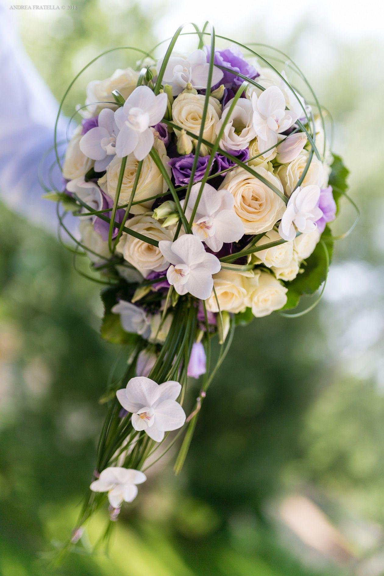 Bouquet Sposa Lilla E Bianco.Bouquet Sposa Bianco E Lilla Bouquet Lilla E Matrimonio