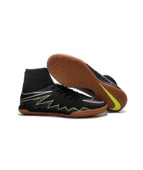 timeless design 888a9 7774a Nike HypervenomX Proximo IC High Tops Fußballschuhe Schwarz