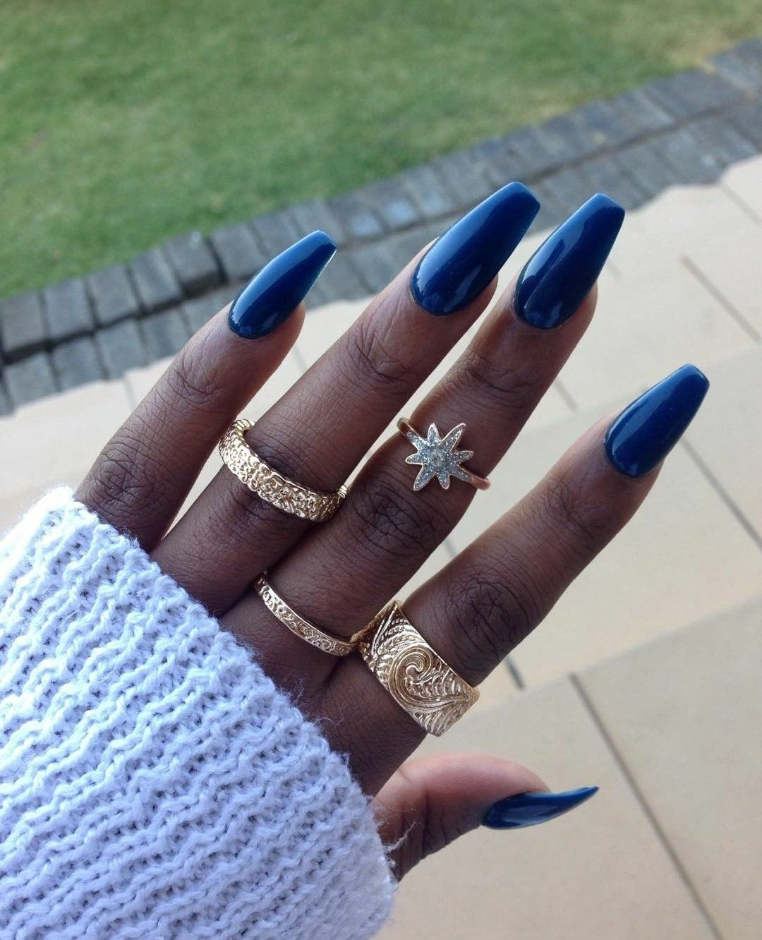 Pinterest The Blackpearl Dark Nails Gel Nails Summer Nails Colors