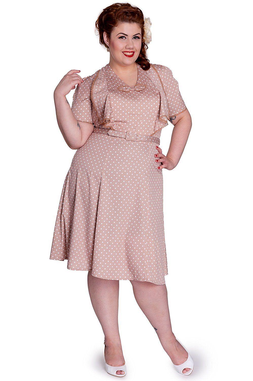 Vintage Style 1940s Plus Size Dresses | 1940s -1950s Plus Size ...