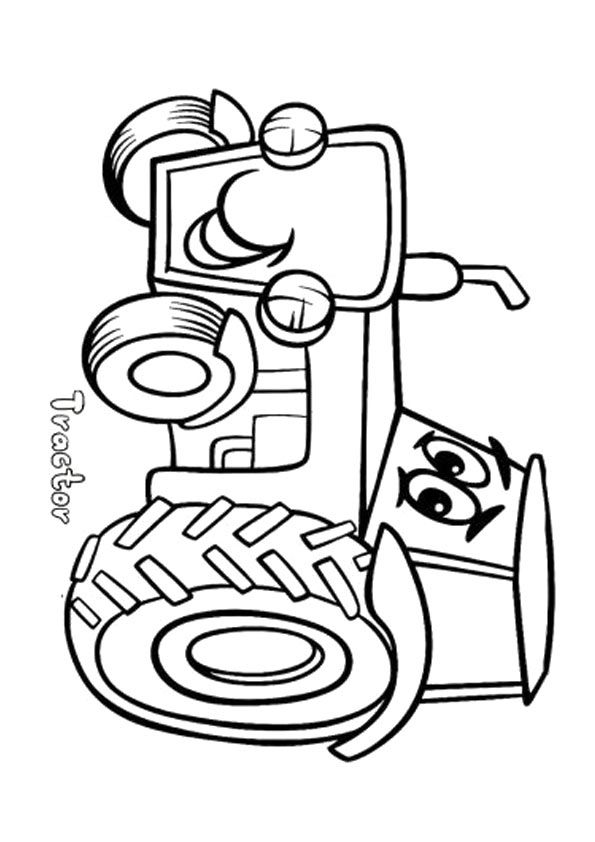 Kleurplaten Tractor Pulling.Click Share This Story On Facebook Tractor Coloring Pages