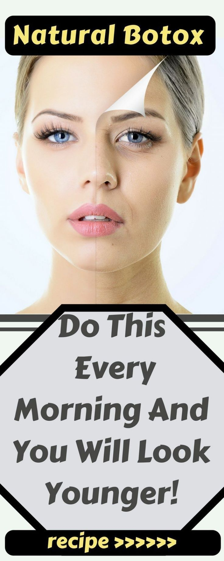 Natural Botox! Do This Every Morning And You Will Look Younger! – Time To Live Amazing - Botox! Do This Every Morning And You Will Look Younger! – Time To Live Amazing  -
