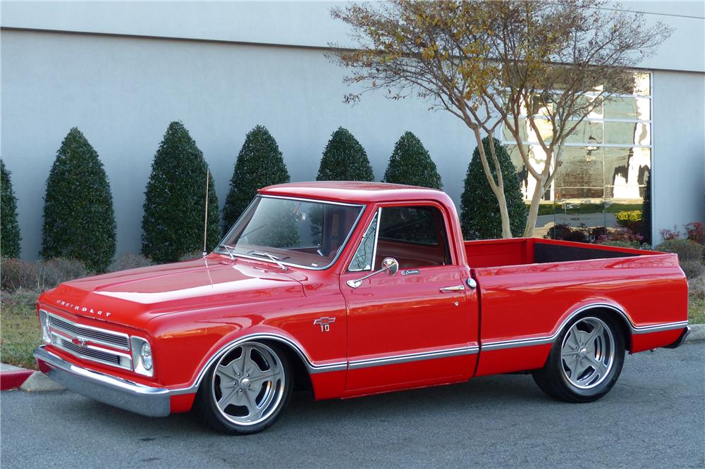 1967 Chevrolet C10 Custom Pickup 217886 C10 Chevy Truck