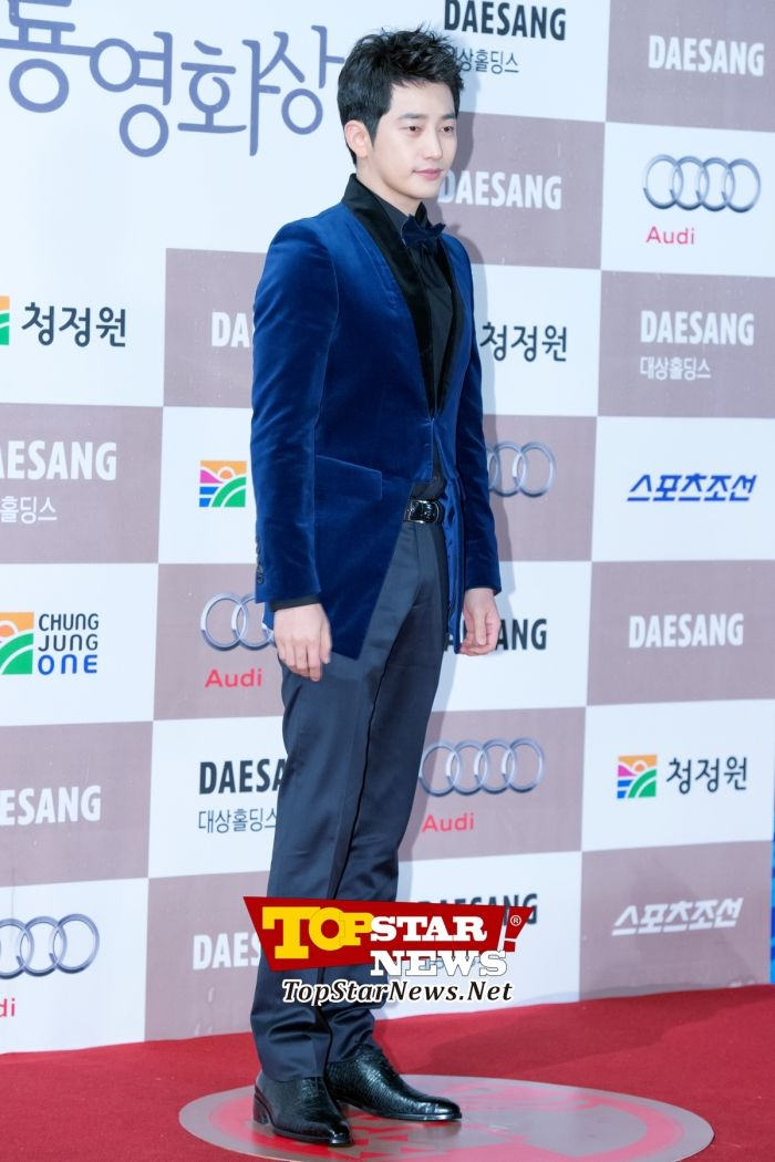 Park Si Hoo, 'His gentle charm is alive' … Red carpet of the 33rd Annual Blue Dragon Awards