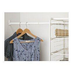algot tringle pour structure blanc dressing room pinterest id es pour la maison pour la. Black Bedroom Furniture Sets. Home Design Ideas