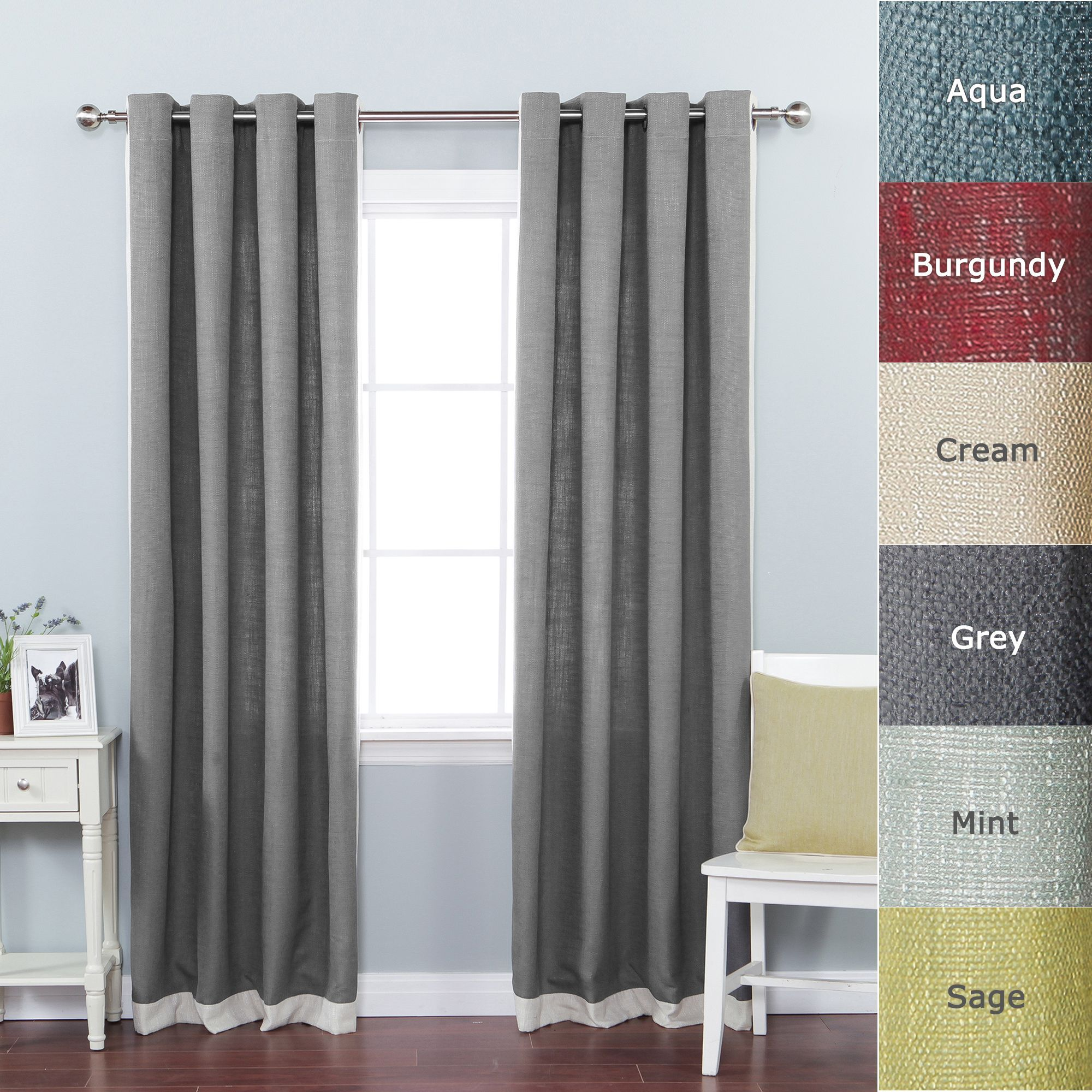 floral design embroidered item linen fancy in sheer curtains made curtain semi from modern faux home door kitchen fabrics short garden ready