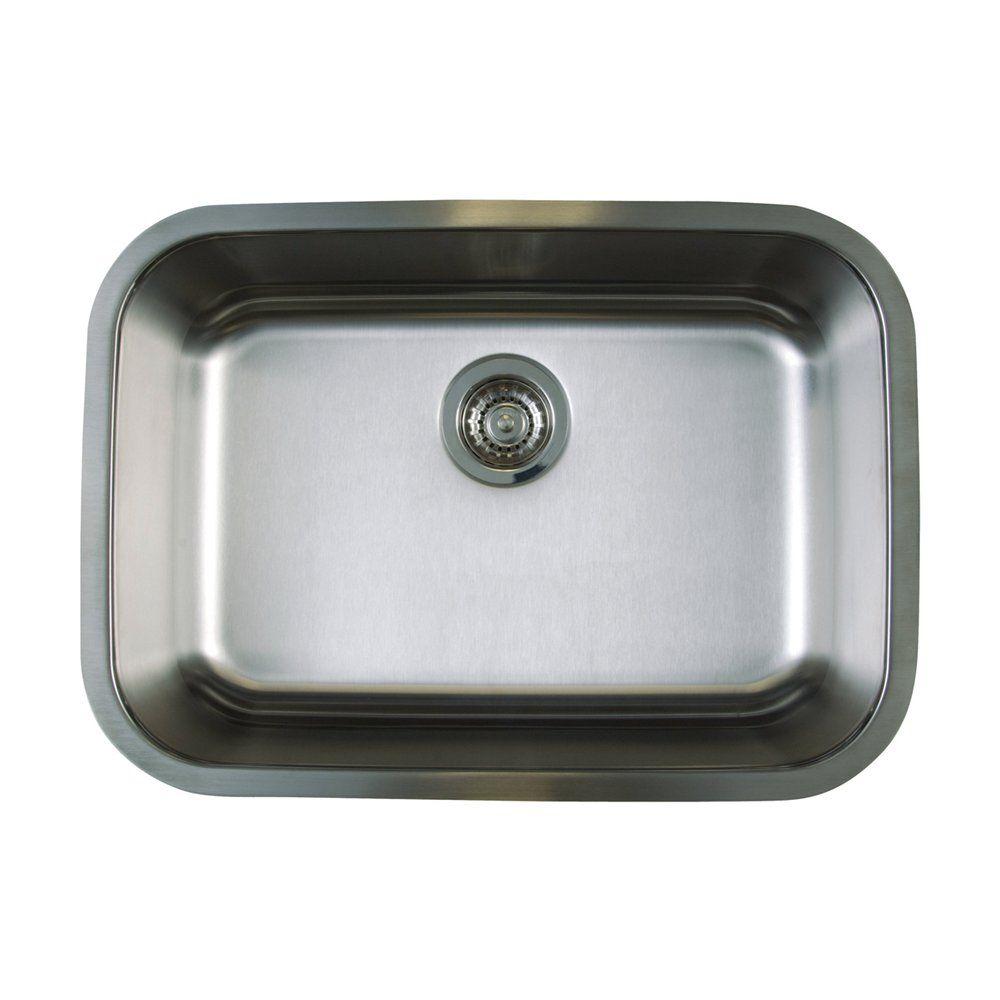 Shop BLANCO Canada BLANCO SOP120 Stellar Single Bowl Undermount Sink ...