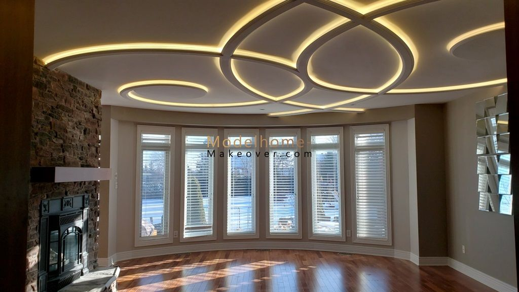 A Modern Coffered Ceiling Design Is The Oldest Recipe For Successful Home Interior Decorations A Coffered Ceiling Design House Ceiling Design Coffered Ceiling