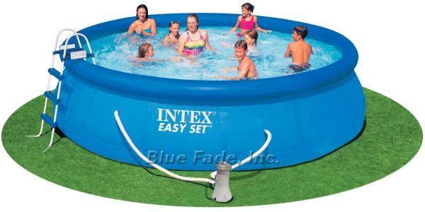 15 Ft X 42 In Intex Easy Set Pool Package Easy Set Pools Cheap