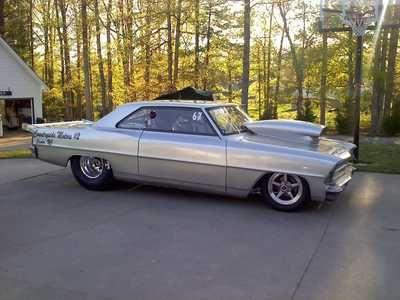 !966 Chevy II Drag Car