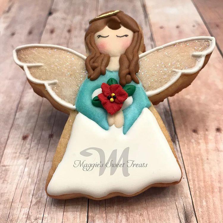 Christmas Angel Cookies Christmas Cookies Dekoracije Hrane In