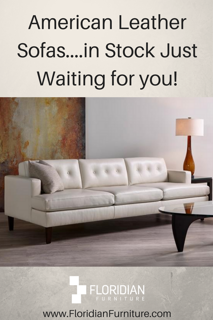 Finest American Leather sofas in stock and custom orders ...