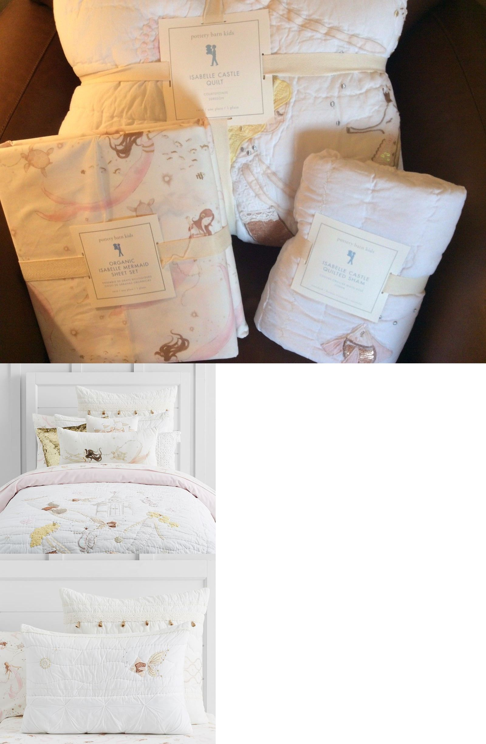 Bedding Sets 66731 Pottery Barn Kids Isabelle Castle Twin