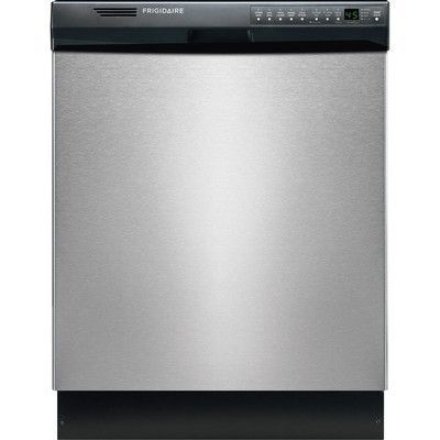 """Frigidaire 24"""" Built-In Dishwasher Finish: Stainless Steel"""