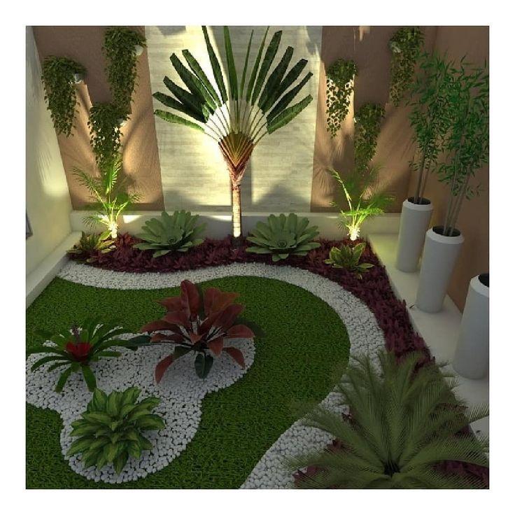 Pra Voce Que Deseja Transformar Pequenos Espacos Em Um Lindo Jardim Tambem R Deseja Em Decorar Jardin Con Piedras Diseno De Jardin Disenos De Jardines