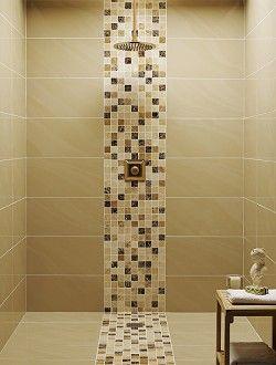 Large Rectangular Tiles Pisos Para Banos Banos Mosaico Diseno