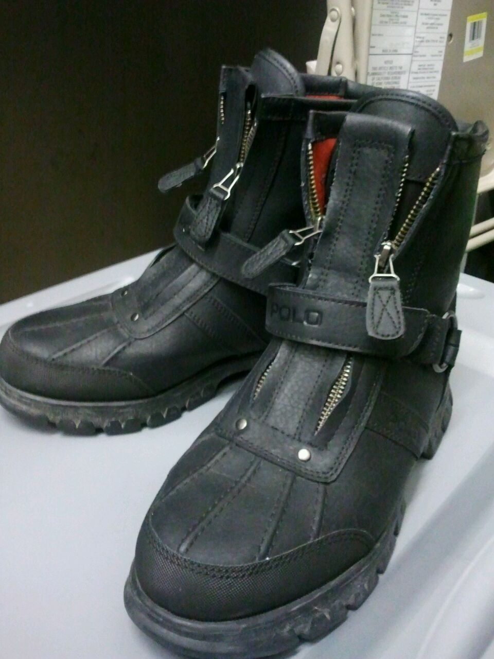 POLO boots! Size 8 1/2 $40!