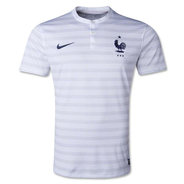 Nike France Away Jersey 14 15 White Soccer Jersey France Soccer Jersey World Soccer Shop