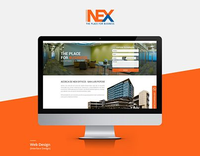"""Check out new work on my @Behance portfolio: """"NEX - Landing Page"""" http://on.be.net/1EHy3Vv"""
