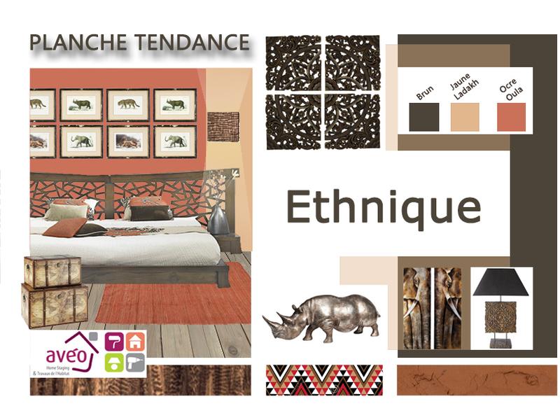 planche tendance ethnique r alis e par aveo travaux a d couvrir sur kozikaza id es d co. Black Bedroom Furniture Sets. Home Design Ideas