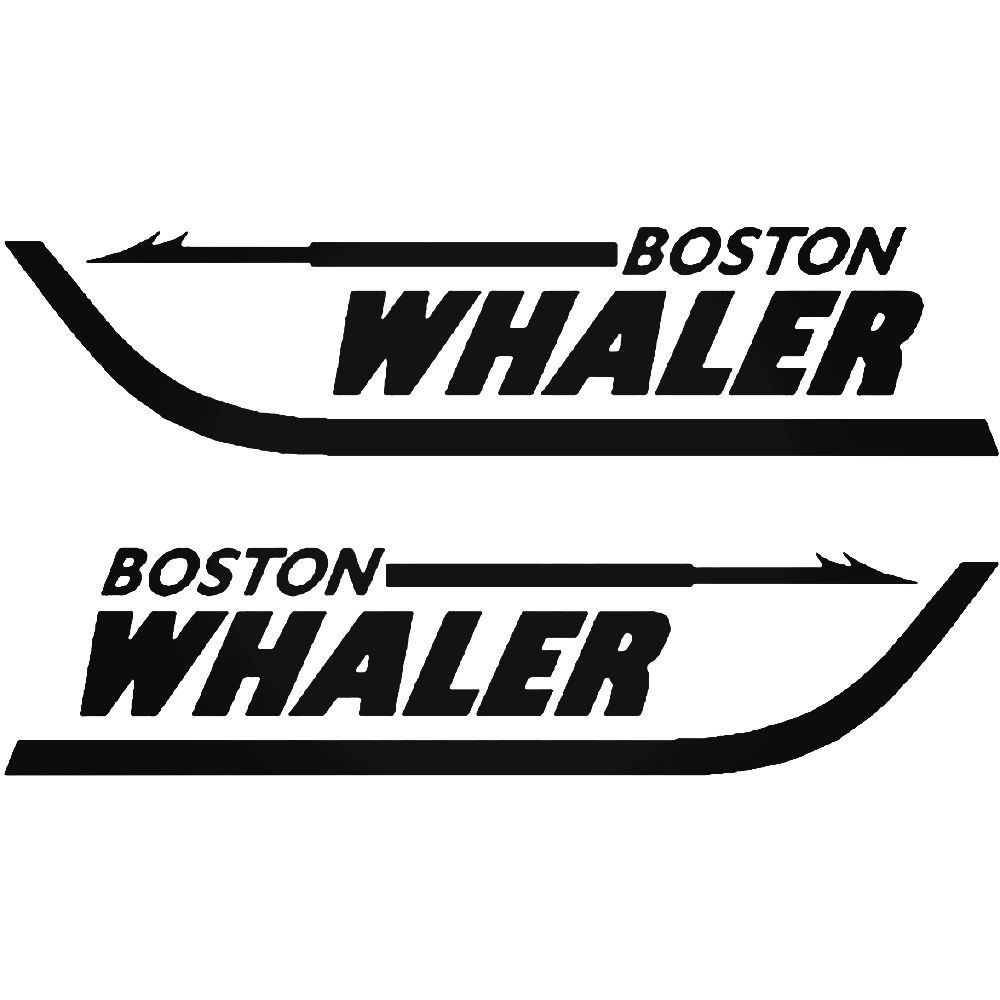 Boston Whaler S Boat Kit Decal Sticker