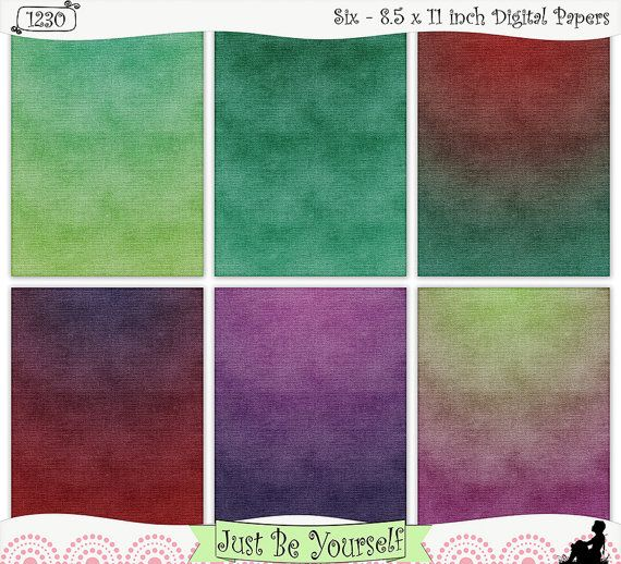 Asparagus Hues Burlap Digital Papers Instant Download by JustBYourself, (1230) $2.75
