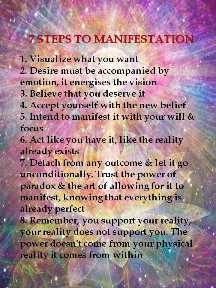 Mind + Psyche + Spirit: 7 Steps To Manifestation | #MindPsycheSpirit… http://itz-my.com