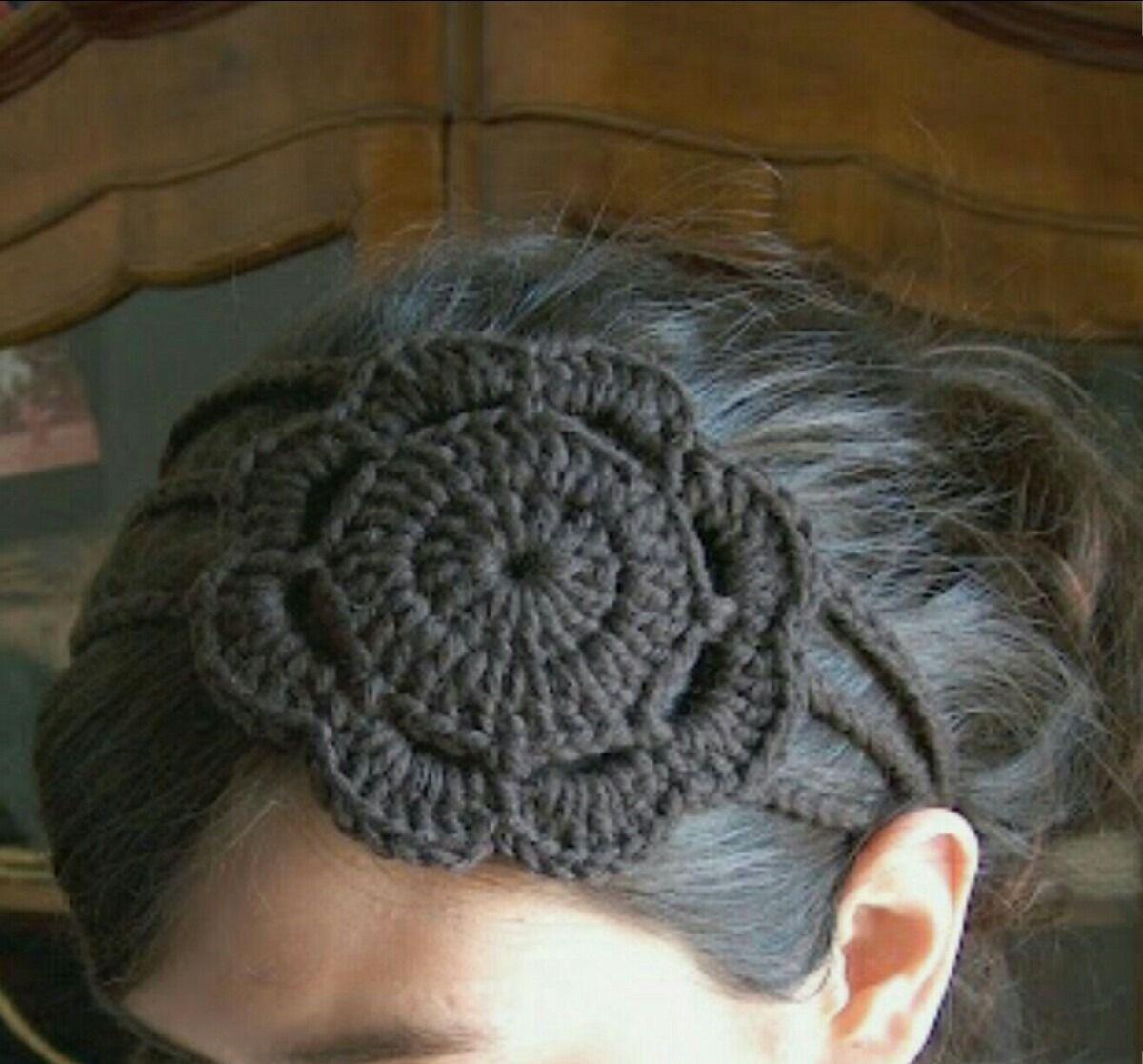 vinchas tejidas al crochet - Buscar con Google | crochet | Pinterest ...