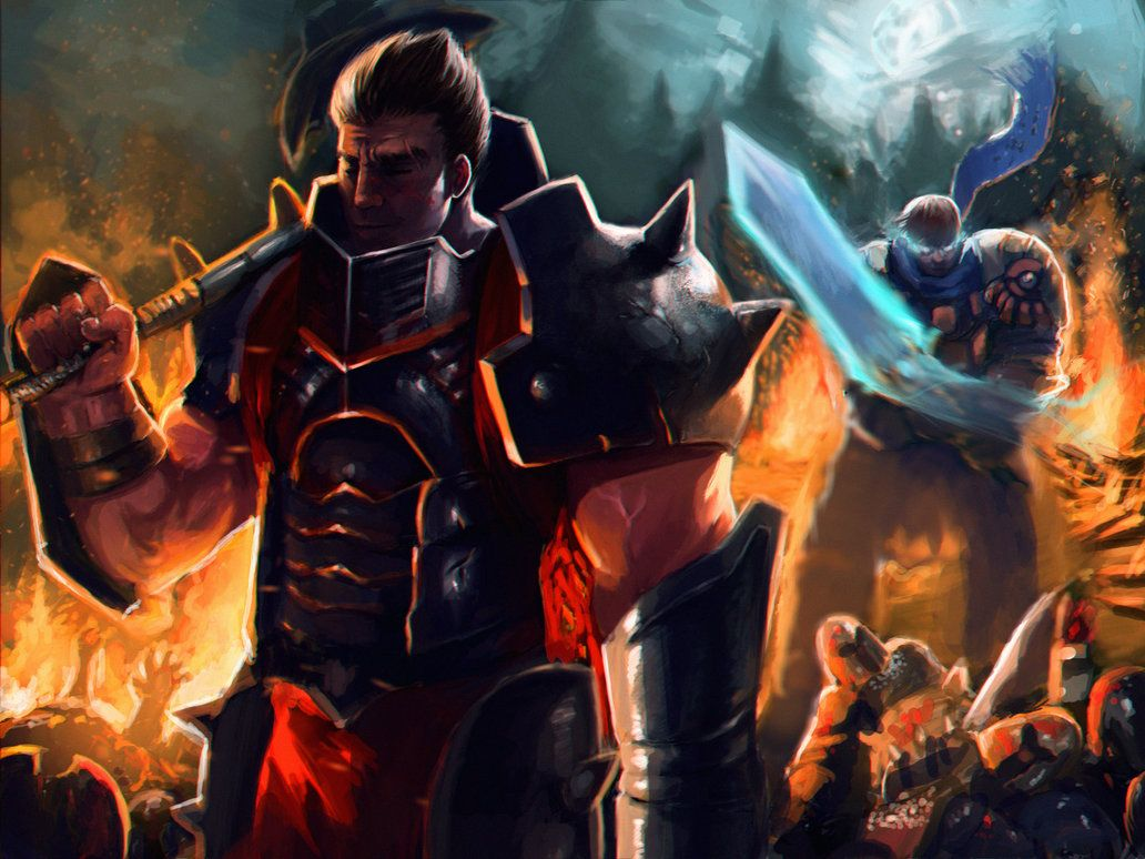 legend of legend personajes garen - Buscar con Google