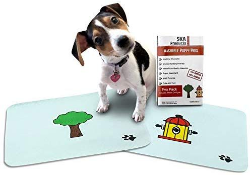 Amazon Com Cute Washable Puppy Pee Pads 2 Pack Fire Hydrant