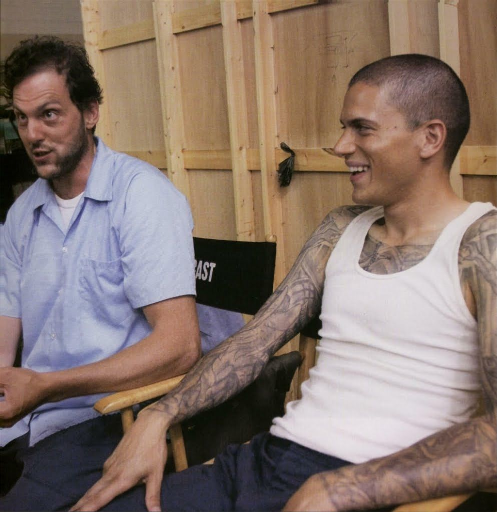 behind the scenes michael haywire prisonbreak tv love pinterest prison break prison