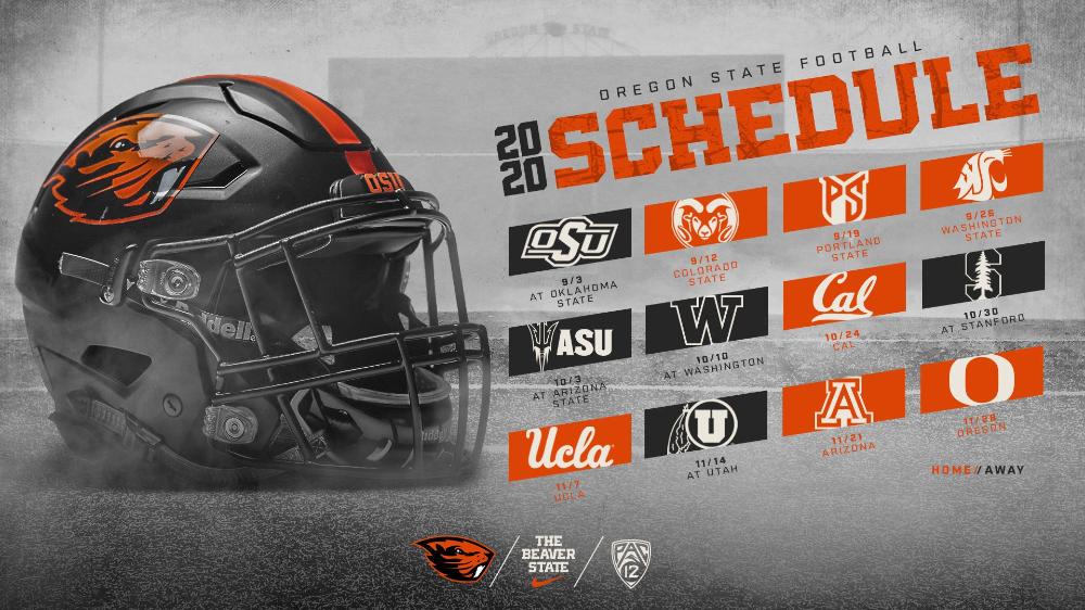 Seven Home Games Highlight Football Schedule Oregon