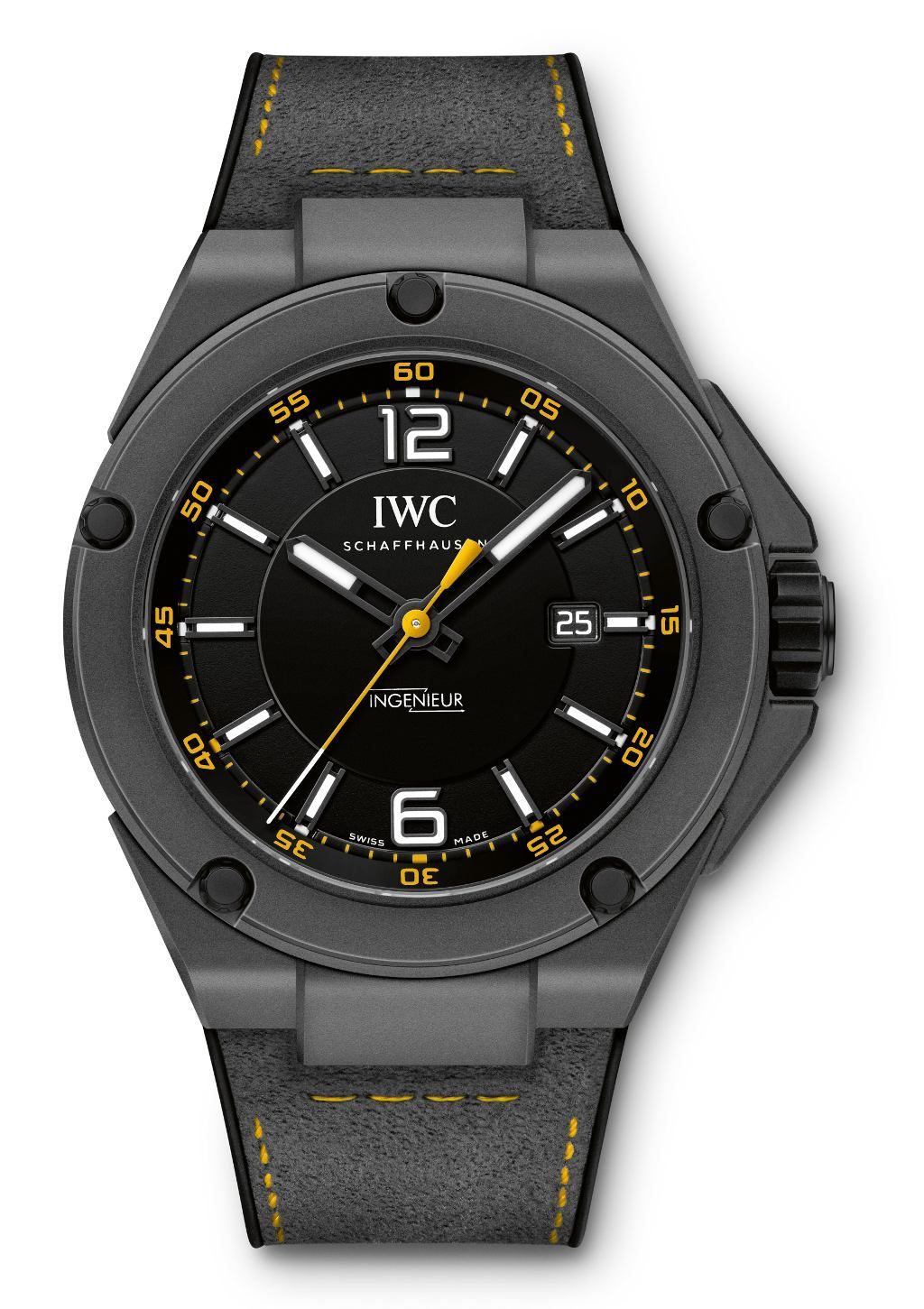 Iwc Ingenieur Automatic Edition Amg Gt Via Watchville Iwc Watches Iwc Latest Watches