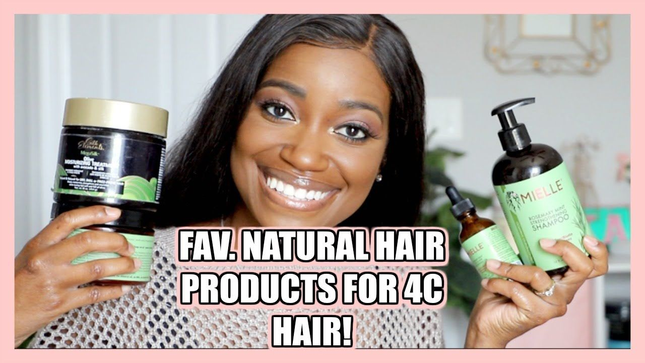 FAVORITE NATURAL HAIR PRODUCTS FOR TYPE 4C HAIR!! | Short Natural Hair Journey