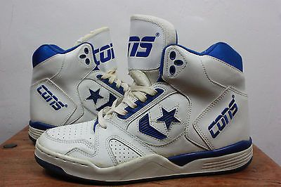VTG CONS Shoes 10 CONVERSE 90's NBA Basketball High Tops