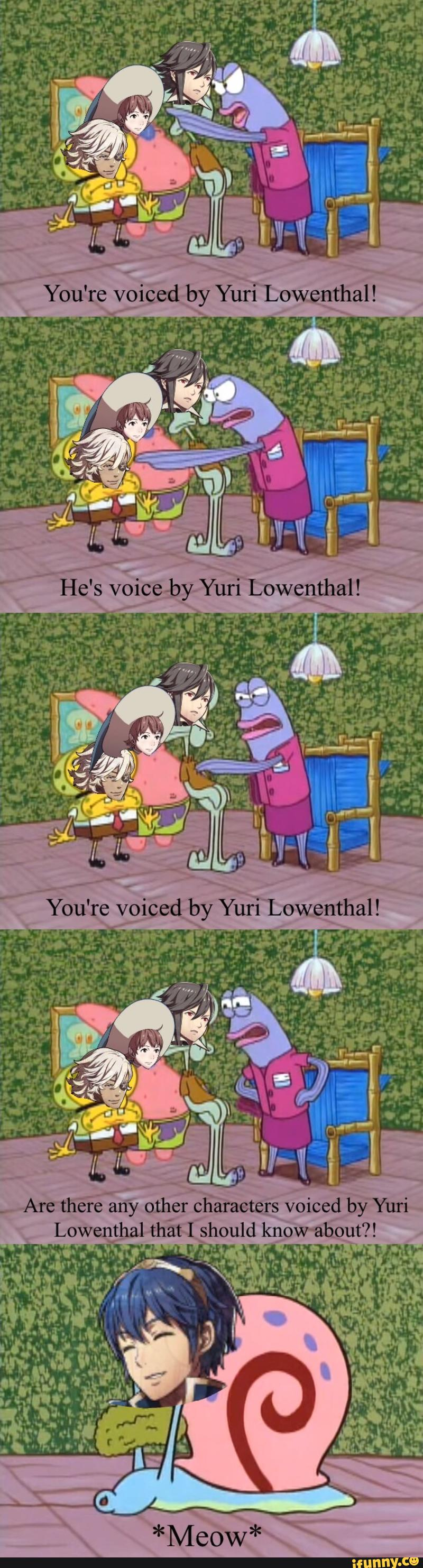 this messes with me so much voice actors are amazing also i