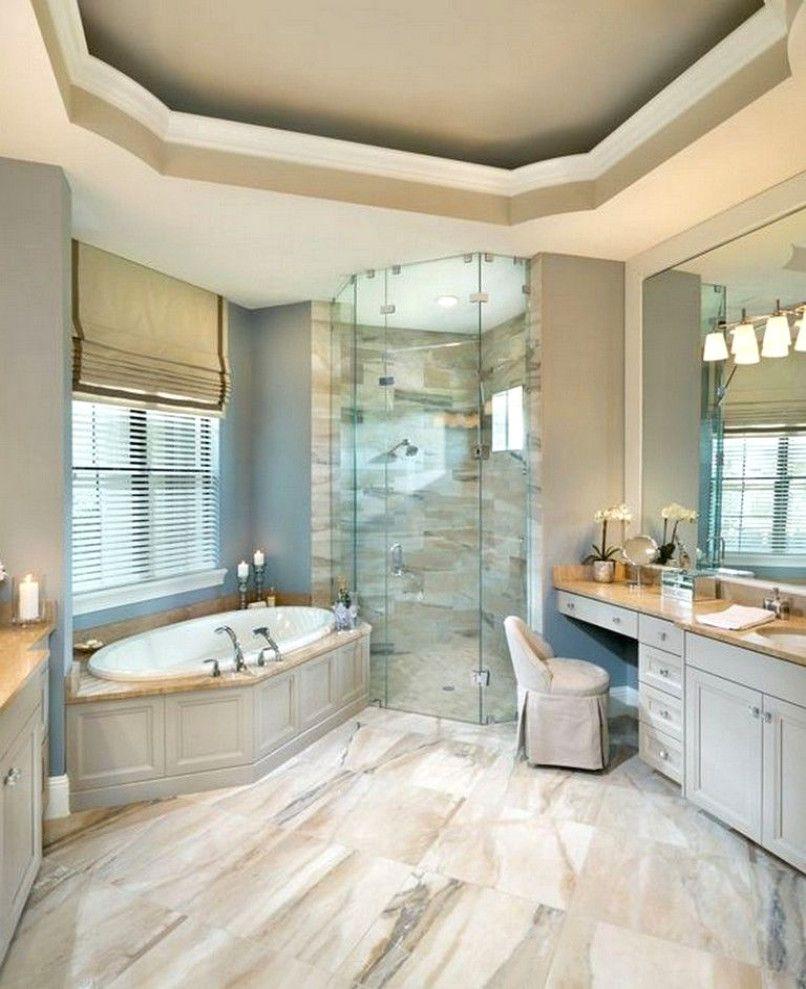 20 Amazing Master Bathroom Decorating Ideas Bathroomideas Bathroomdesign Bathroomdecor Bathroom Design Luxury Modern Luxury Bathroom Arthur Rutenberg Homes