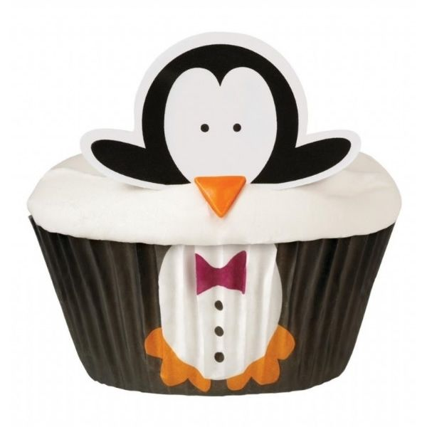 Penguin Cupcake Decorating Kit Food and Booze Are Fabulous