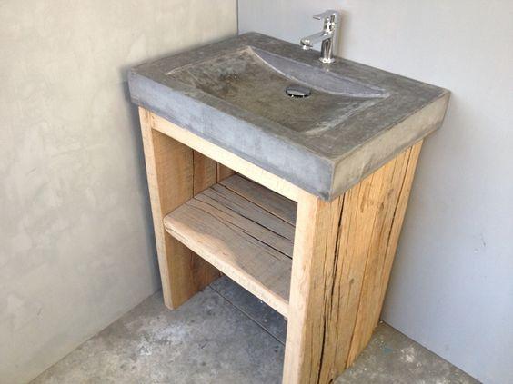 Hout En Beton : H s betonwaren luxe schutting in hout en beton schuttingen met