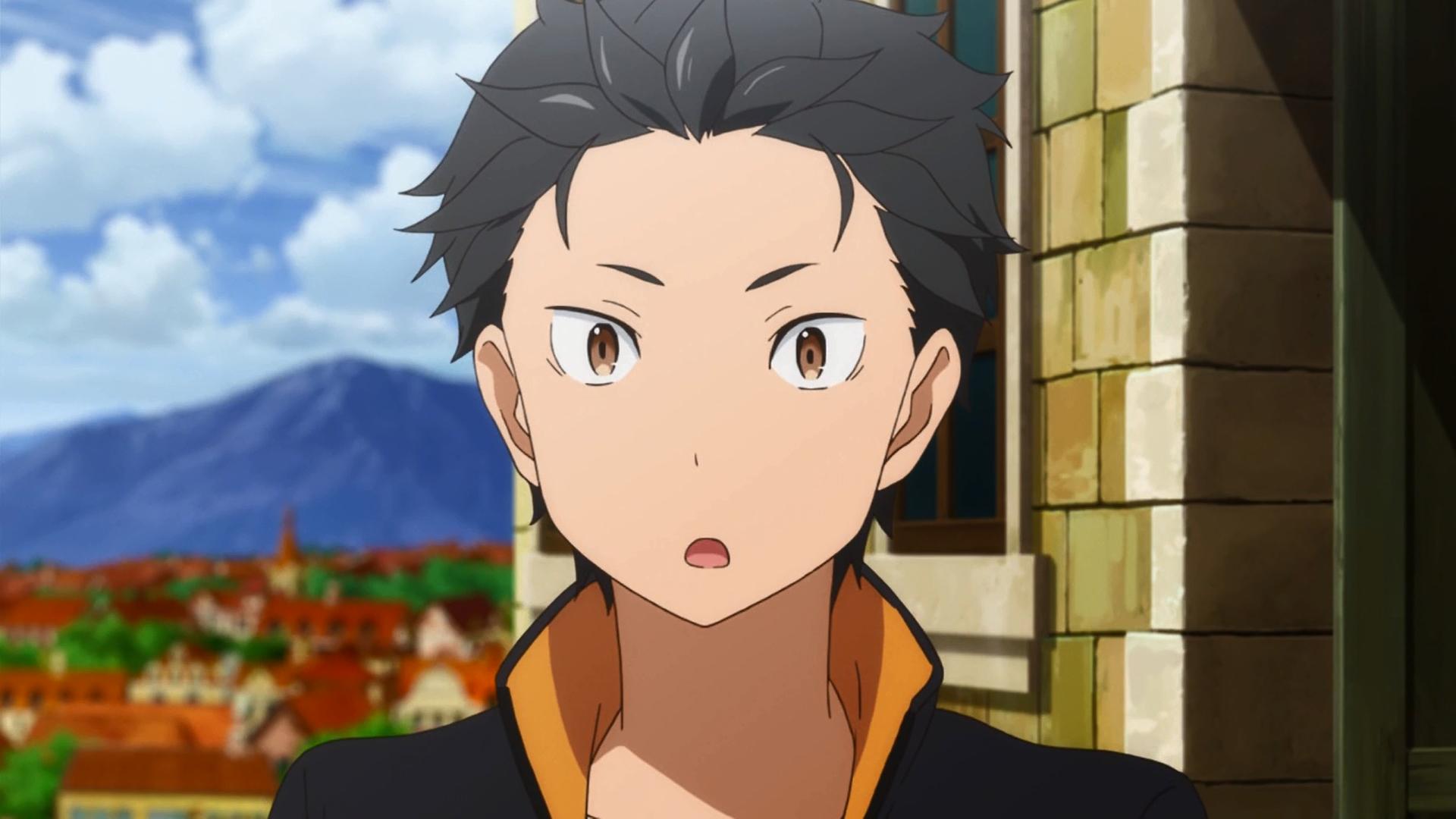 Natsuki Subaru Anime, Anime characters, Anime art