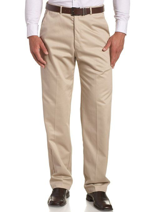 Amazon Com Haggar Men S Work To Weekend Hidden Expandable Waist No Iron Plain Front Pant Dress Pants Clothing Mens Shirt Dress Mens Pants Sizes Mens Pants